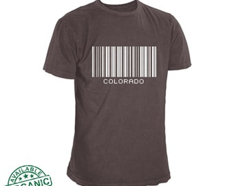 Get your Colorado T-Shirt from the top-rated local Colorado seller! Our Colorado Tee Shirt comes in many colors and sizes to 3XL.