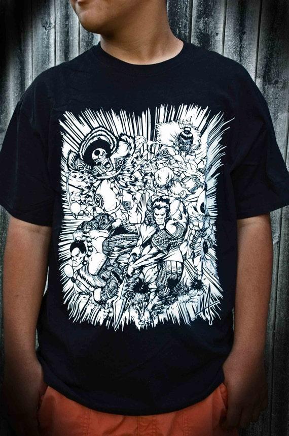 Items similar to polynesian warriors design t shirts for Hawaiian design t shirts