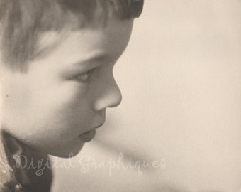 Child's Profile Portrait