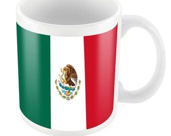 Mexico Road To World Cup Ceramic Mug Gift Birthday Present Novelty Brasil 2014