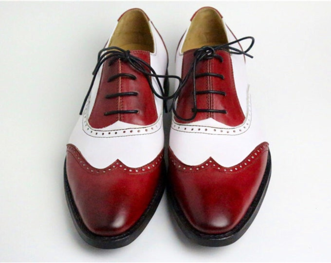 Handmade Goodyear welted Men's Brogue Shoes,Dress shoes,Matching colors