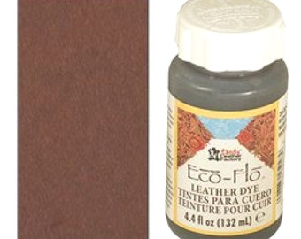 Eco-Flo Leather Dye 4.4 oz (132 mL) Java Brown 2600-04