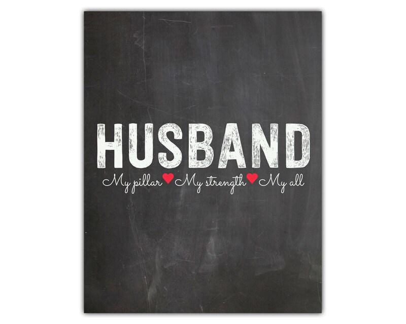 Husband Gift 20th Wedding Anniversary : printable 1st 5th 10th 20th 30th anniversary gift by iamawakened