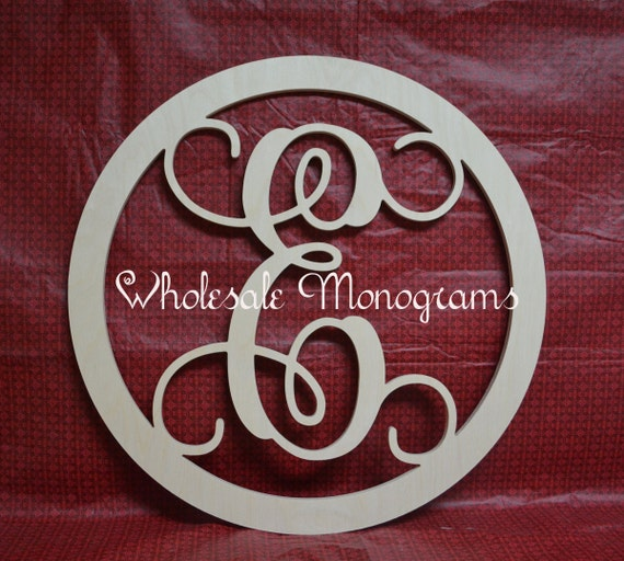 36 inch wooden monogram single letter w border for 36 inch wooden letters