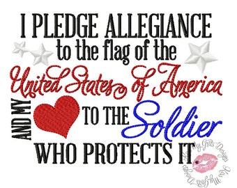 I pledge allegiance   Etsy
