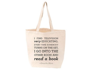 Groucho Marx Books Tote