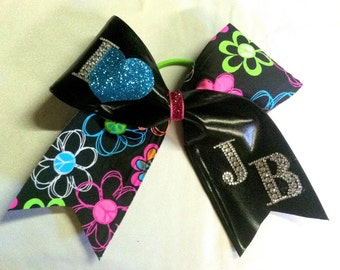 Cheer bow Justin beiber