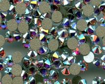 2058 SS5 CI *** 40 Swarovski rhinestones flat back SS5 (1,85mm) crystal ab