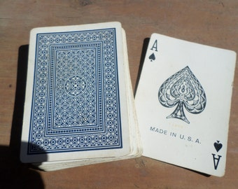 vintage deck of Playing Cards ANTIQUE POKER
