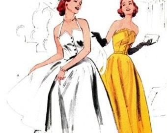Butterick 6174 Fashion Icon Evening Dress 1999 / SZ8-12 UNCUT