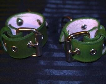 Single Strap Wrist Cuffs