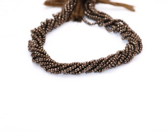 Pyrite Beads--   STRAND
