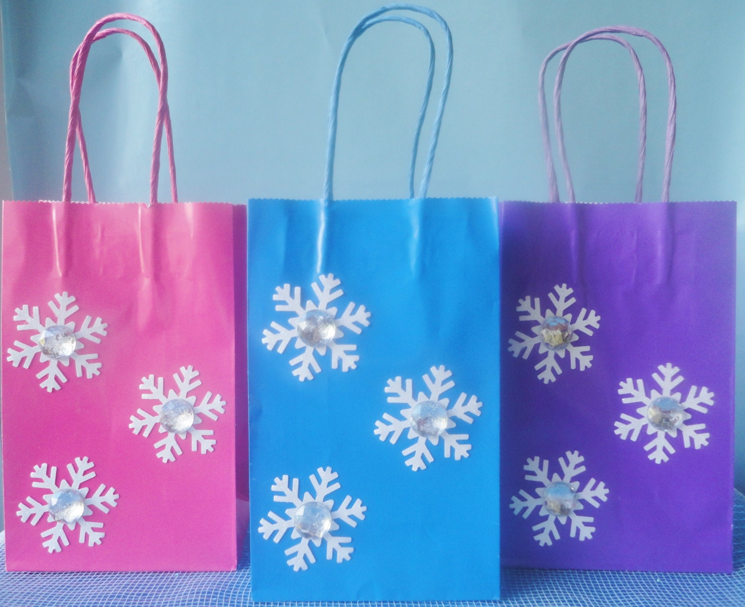 Frozen Birthday Party Favor Bags Set Of 6