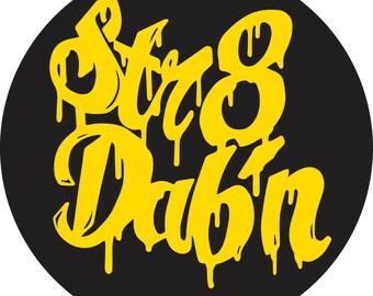 Str8 Dabin Sticker