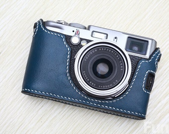 6 Colors! Fujifilm X100 Leather Case, X100 Camera Case, Half Camera Case for X100