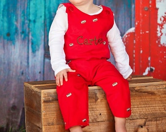 Football Red Cord Longalls