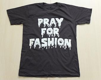 Pray For Fashion Pop Rock T-Shirt M