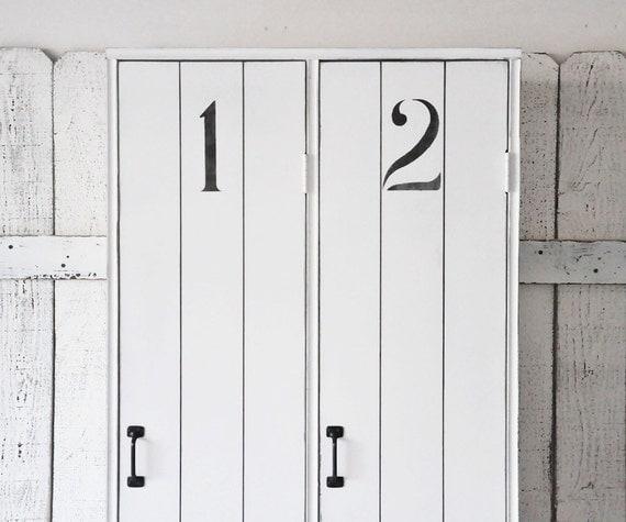 Locker Unit Entryway Storage Lockers In White By