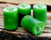 Prosperity Purse Votive Candle - For prosperity, abundance, & manifestation