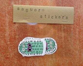 Saguaro Cactus Stickers