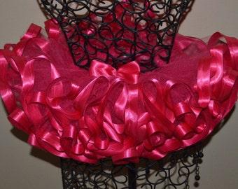 Pink Ribbon Trim Tutu