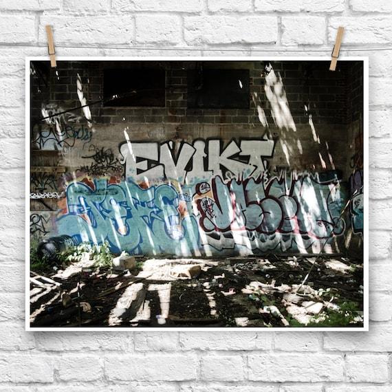 Evikt Urban Art Graffiti Poster Photo Home Art Decor Street