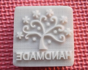 Handmade Tree Soap Stamp Soap Mold Resin Stamp Cake Mold