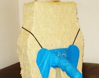 penis pinata Elephant thong pinata.  Bachelorette  pinata