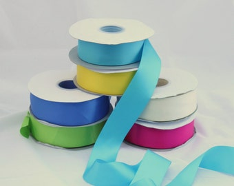 5 yards Double Faced satin Ribbon 1.5 inches