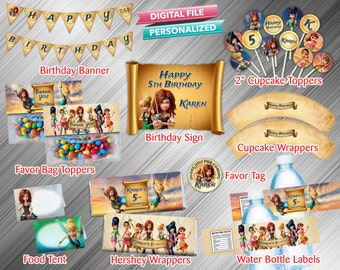 Tinkerbell Pirate Fairy Printable Party Package