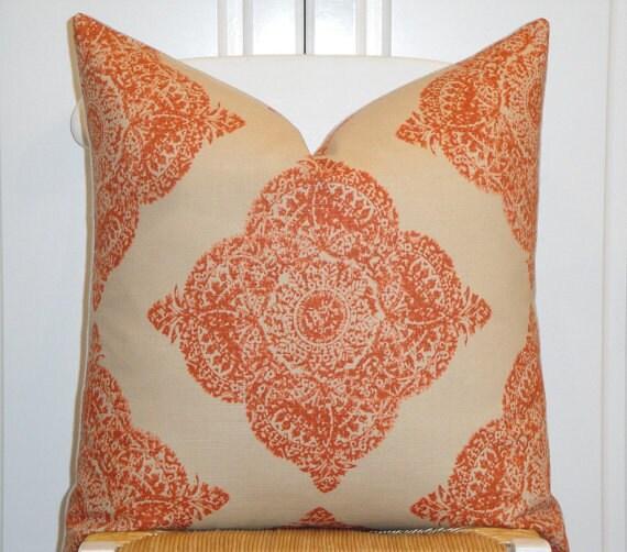 John Robshaw Fabrics: BLOWOUT SALE!!!,Mani Terracotta, By Duralee Fabric, John