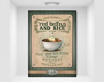 NOLA Collection Red Beans & Rice Art Digital Download