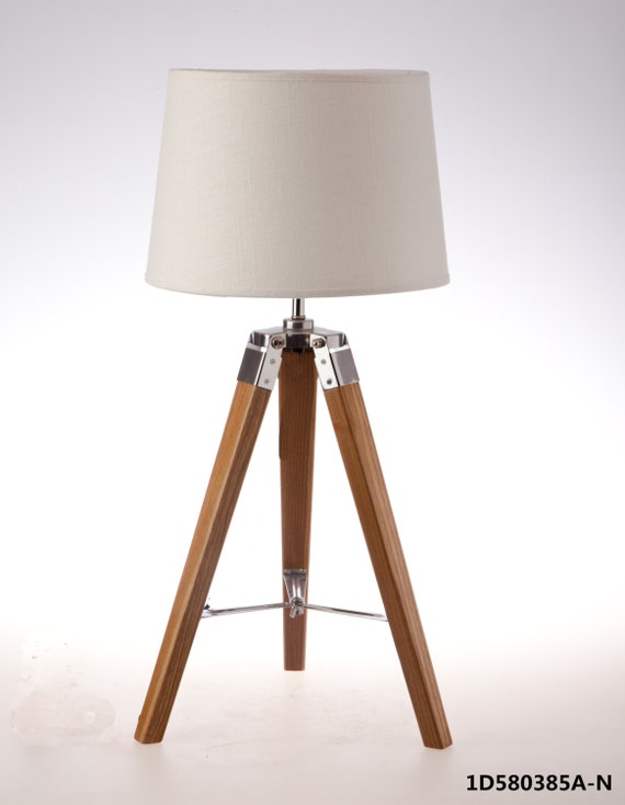 items similar to 2 x wooden 3 foot table lamp with 3 With 3 foot table lamp
