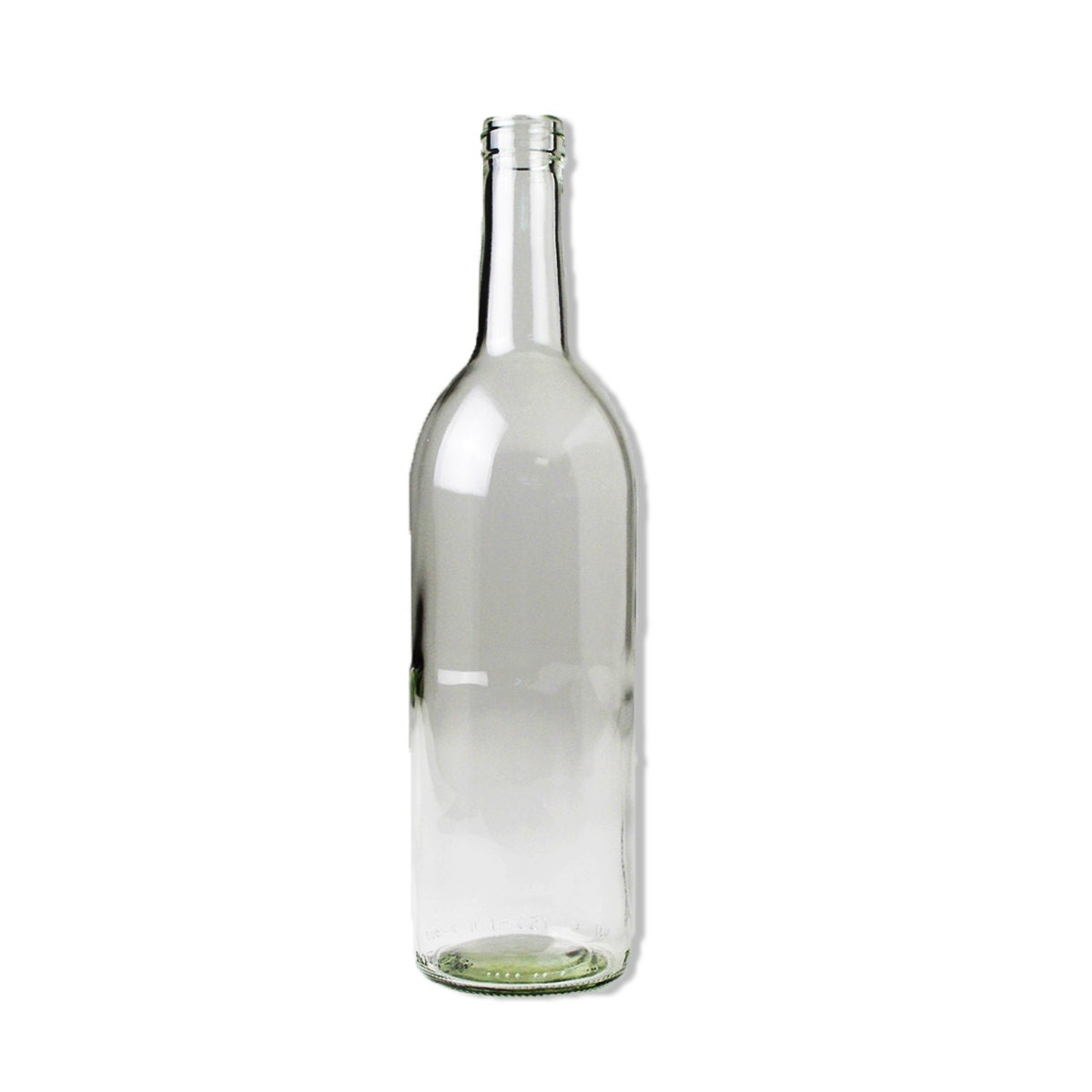 750 ml clear claret bordeaux wine bottle case of 12 for What to make with empty wine bottles
