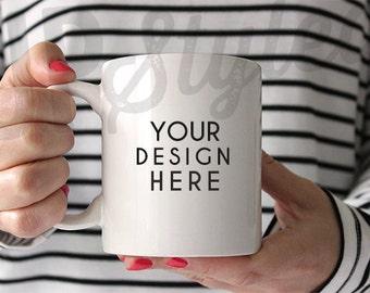 Coffee Mug Stock Photograph Styled Photography Stock Photo - Product Photograph F119