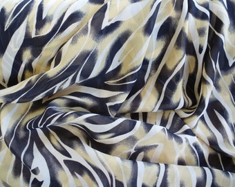 Animal Print Fabric by the Yard, Wide Goods, Rayon Poly Blend Yardage, Fabric Yardage, Yardage
