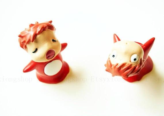 2pcs Accessories Resin Goldfish Princess Mermaid By Xiongshop