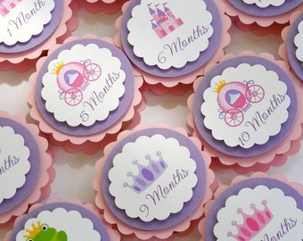 Princess Birthday - First Year Photo Clips - 1st Birthday - Ships in 1-3 Days