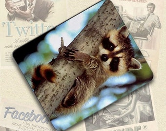Raccoon Large Mousepad Mouse Pad Great Gift Idea LMP014