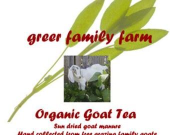 Goat Manure Tea & Soil Conditioner!