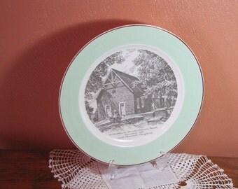Vintage Church Plate
