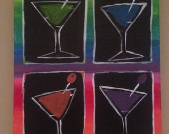 Martini Party Painting