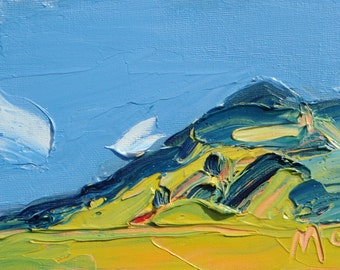 Blue Sky II - Rannerdale. Limited Edition A6 postcard print on 100% recycled paper 350g/m2 matte finish