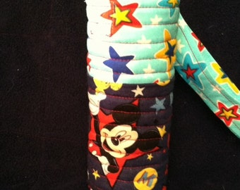 Disney Mickey Mouse Themed Insulated Water Bottle Holder