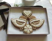 Lovebirds Engagement/Wedding Cookie Gift
