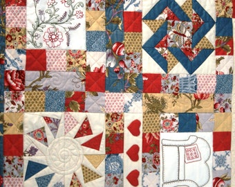 Friendship Quilt Block of the Month- Block 8