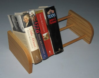 "12"" Oak Tabletop Book Shelf / CD Rack"