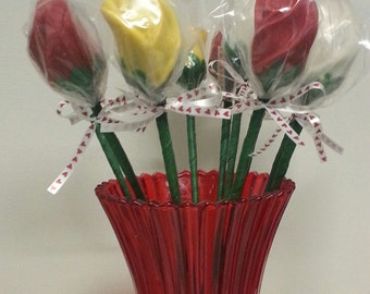 Chocolate Long Stem Roses