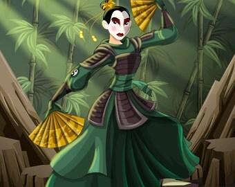 Kyoshi Warrior Princess