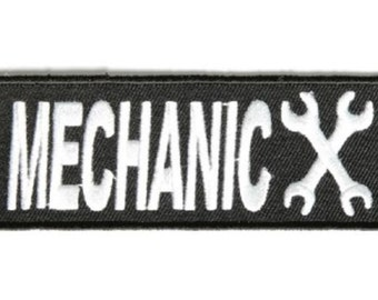 MECHANIC GEAR HEAD Military Patch
